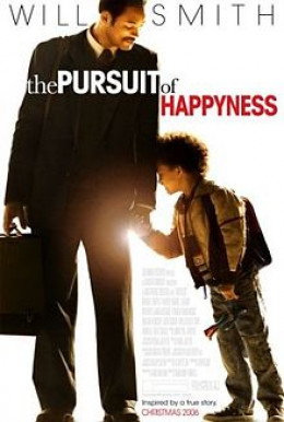 Poster of the movie the persuit of happiness featuring WQill Smith and Jaden Smith of the life of Chris Gardner
