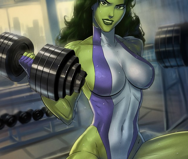 She Hulk Sexy  F F C   Hot Pictures Of She