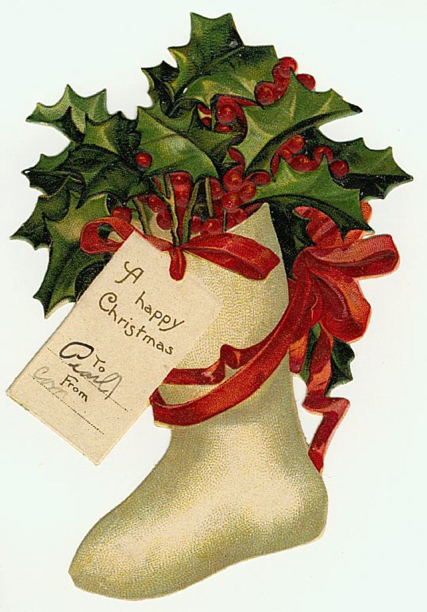 Free Vintage Christmas Gift Tags HubPages