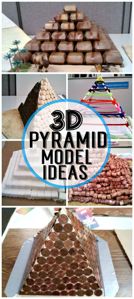 3D Pyramid Model Project Ideas   HubPages on Model Ideas  id=78431