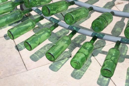 Wine Bottle Tree