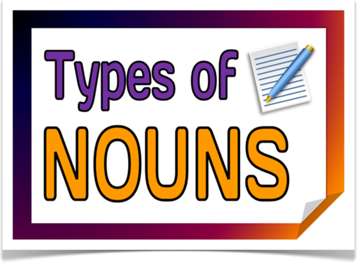 English Grammar Types Of Nouns
