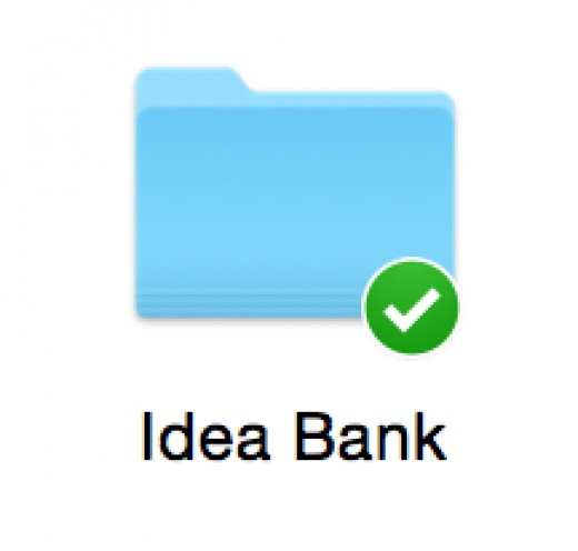My personal idea bank