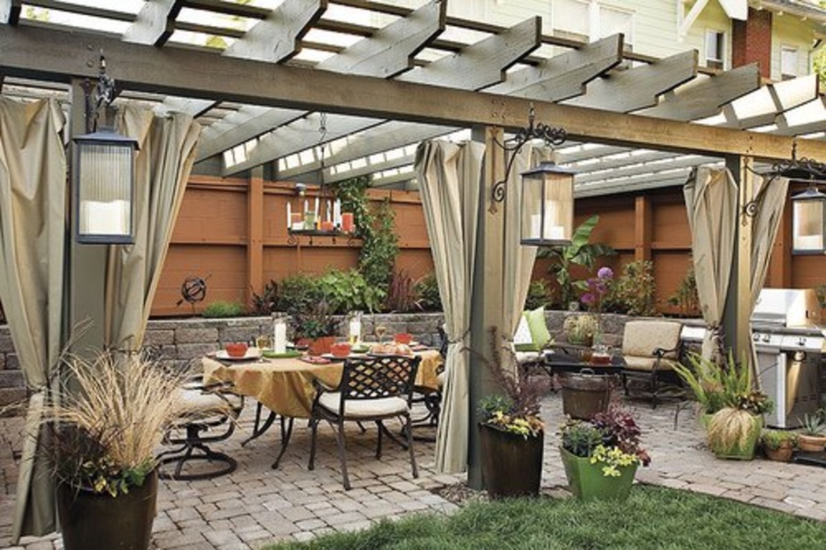 Most Popular Types of Outdoor Patio Covers on Backyard Patio Covers  id=33205