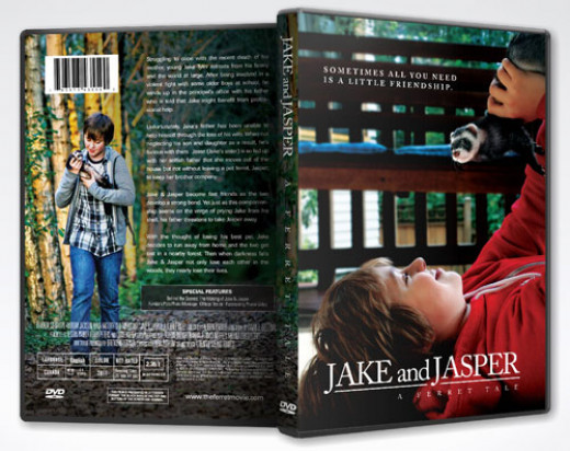 DVD Cover of Jake and Jasper A Ferret Tale