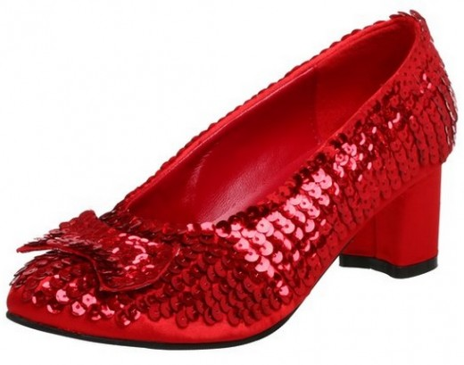 Dorothy's Ruby Red Slippers | hubpages