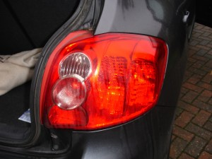How to Replace a Tail Light Bulb on Toyota Auris | AxleAddict