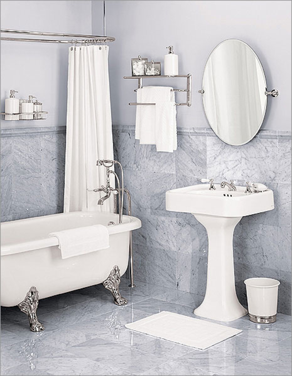 How To Maximize Space In A Small Bathroom   HubPages on Space Bathroom  id=49009