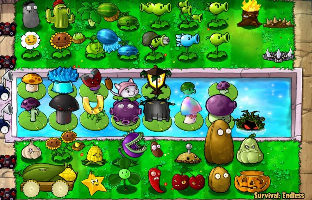 Zombie And Plants Games
