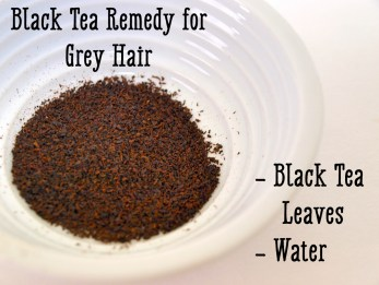Image result for black tea remedies for white hair