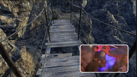 virtual reality Mountain trails from the safety of your home
