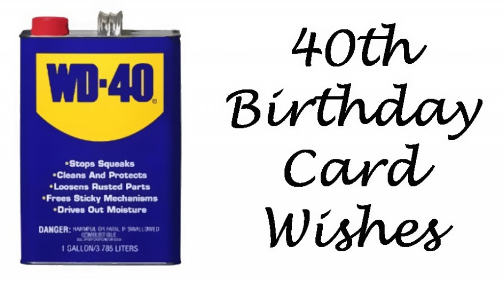 40th Birthday Wishes Messages And Poems To Write In A