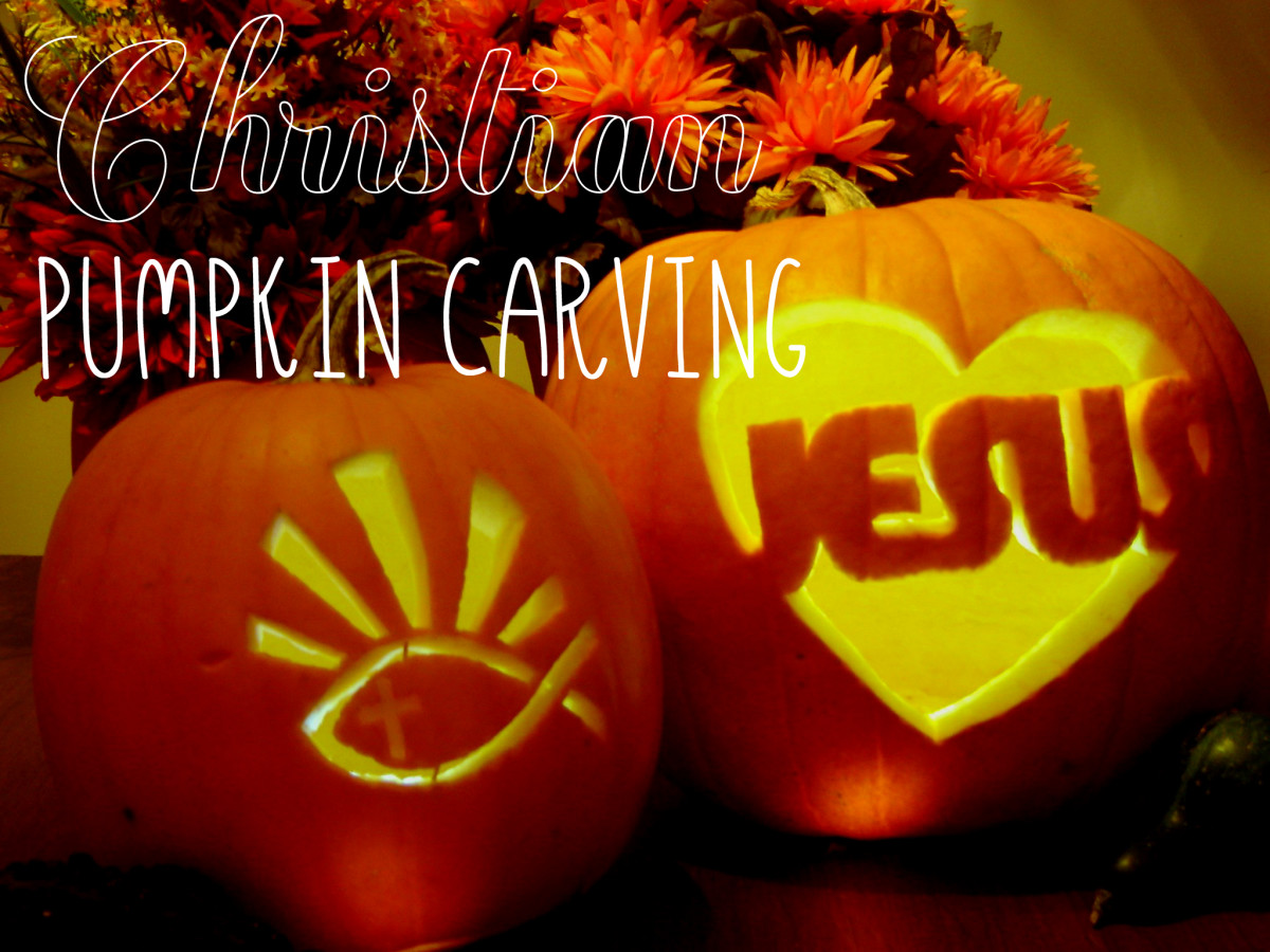Christian Pumpkin Carving For Halloween Printable