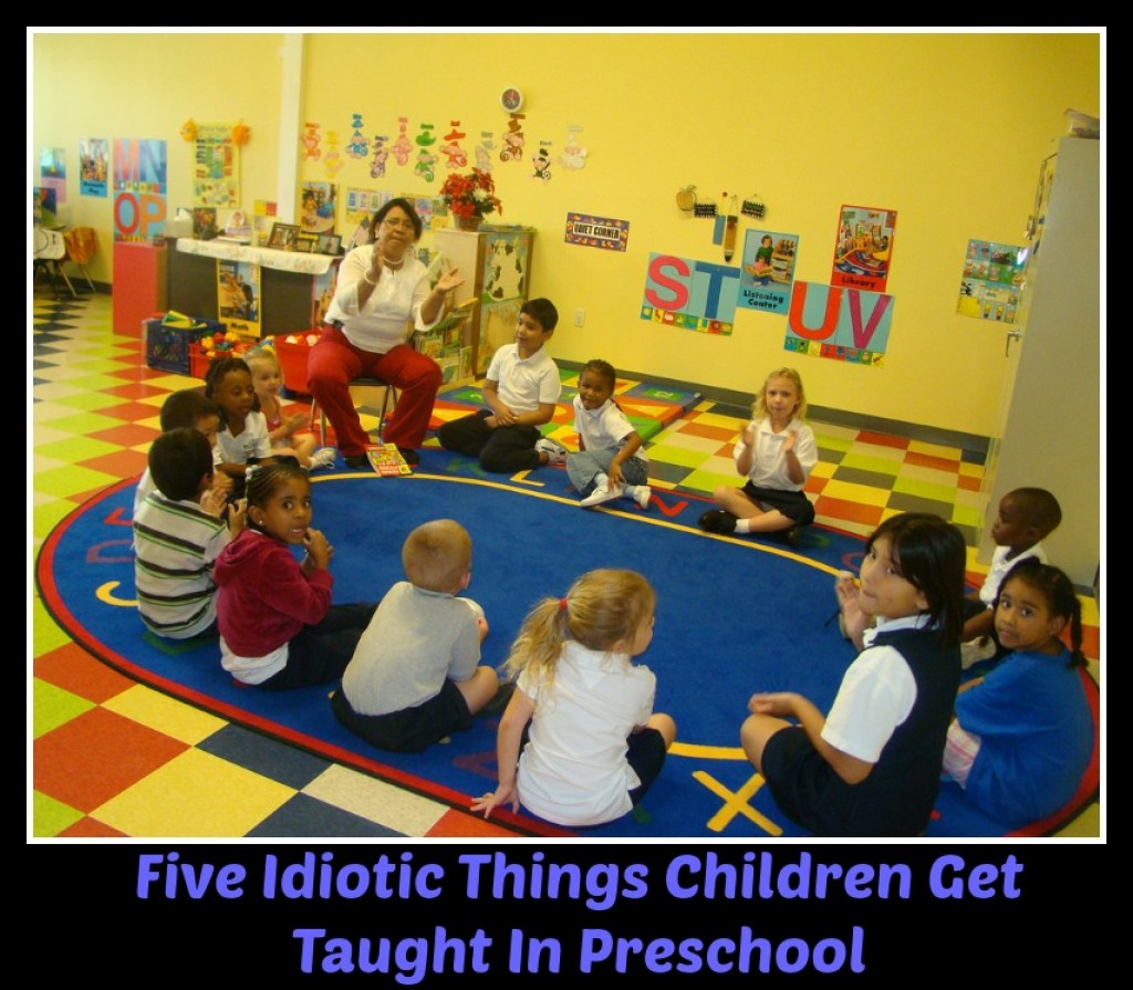 5 Things Children Learn In Preschool That Are A Waste Of