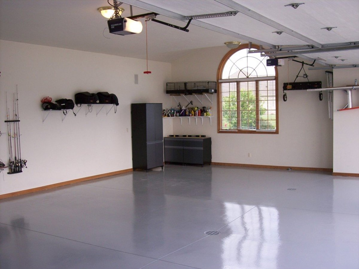 Tips for Applying Garage Wall Paint | Dengarden on Garage Color Ideas  id=83902