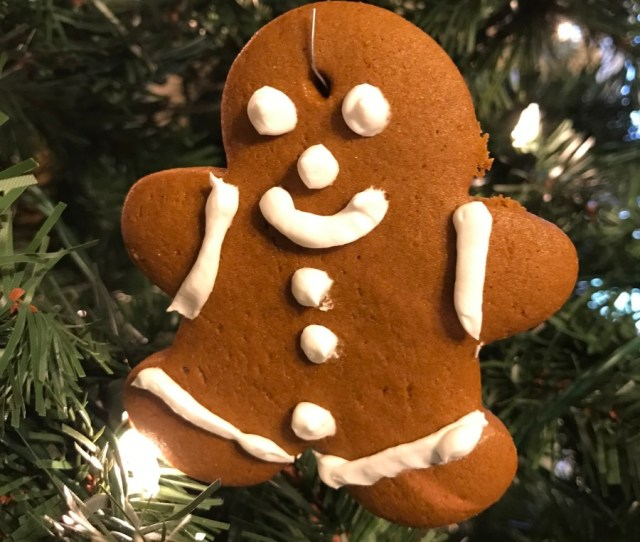 Although Good Enough To Eat This Recipe For Gingerbread Ornaments Is Also Sturdy Enough For