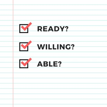 Image result for willing ready and able