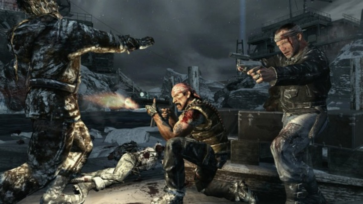 Top 5 Call Of Duty: Black Ops Zombies Maps