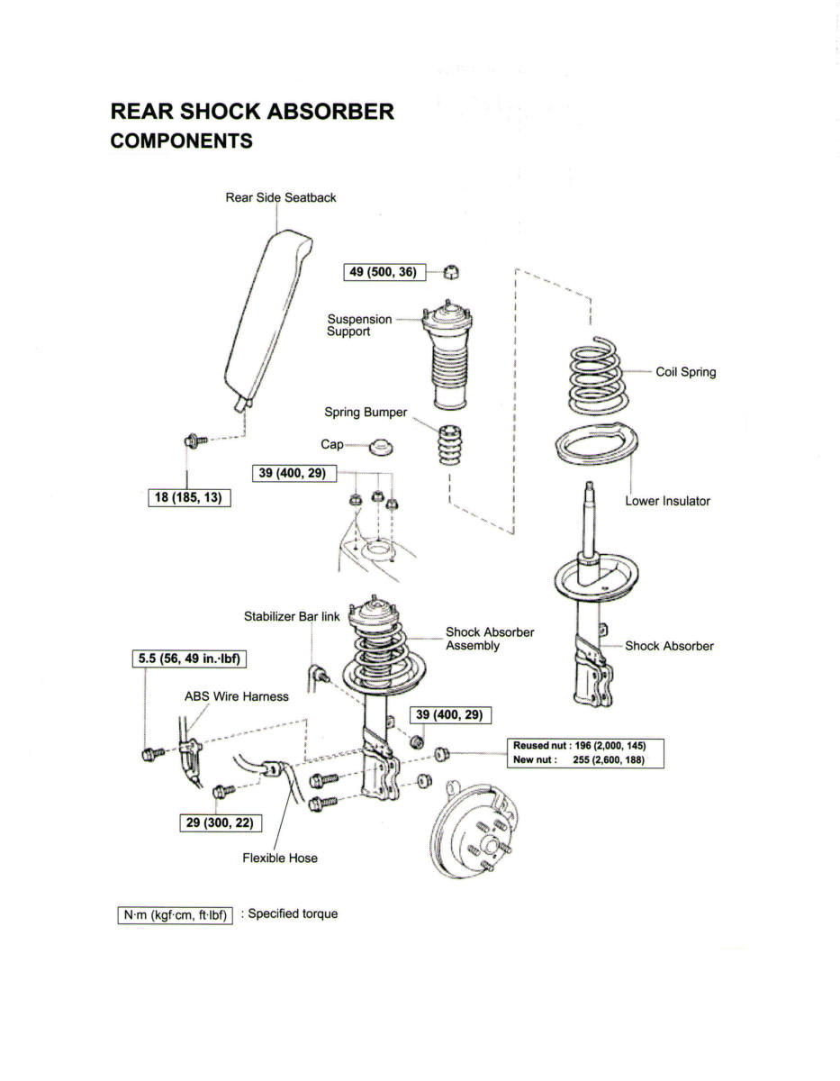 Tercel Engine Mount Diagram