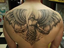 fallen angel tattoos hubpages