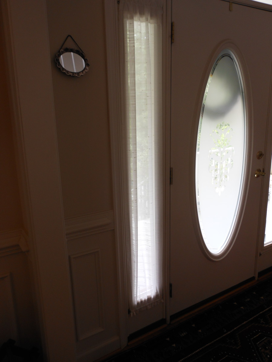 How To Make Window Coverings Curtains For Sidelights
