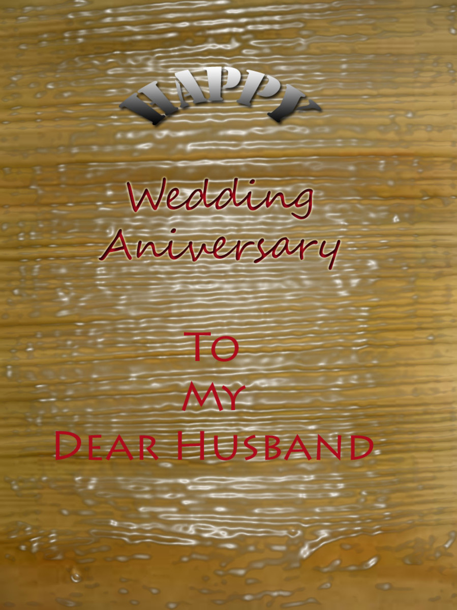 Wedding Anniversary Love Letters Amp Messages For Husband HubPages