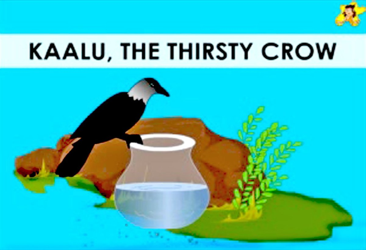 The Thirsty Crow A Moral Story In English With Pictures Hubpages