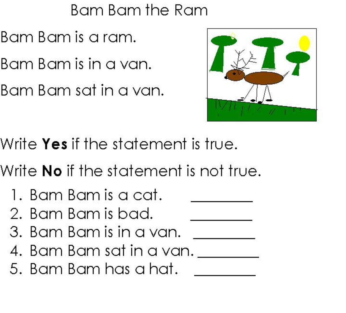 How To Teach Cvc Stories To Children
