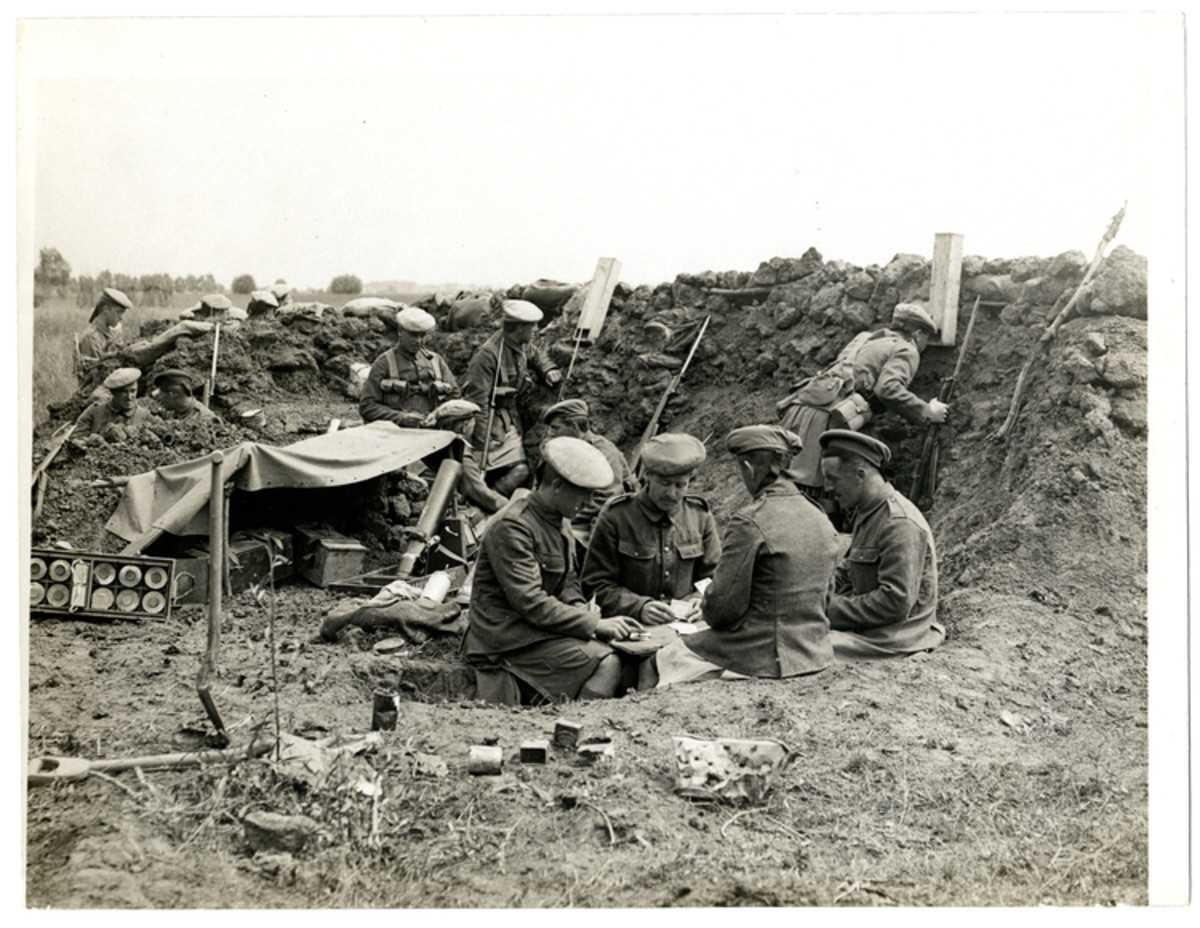 Living In The Trenches Of Ww1