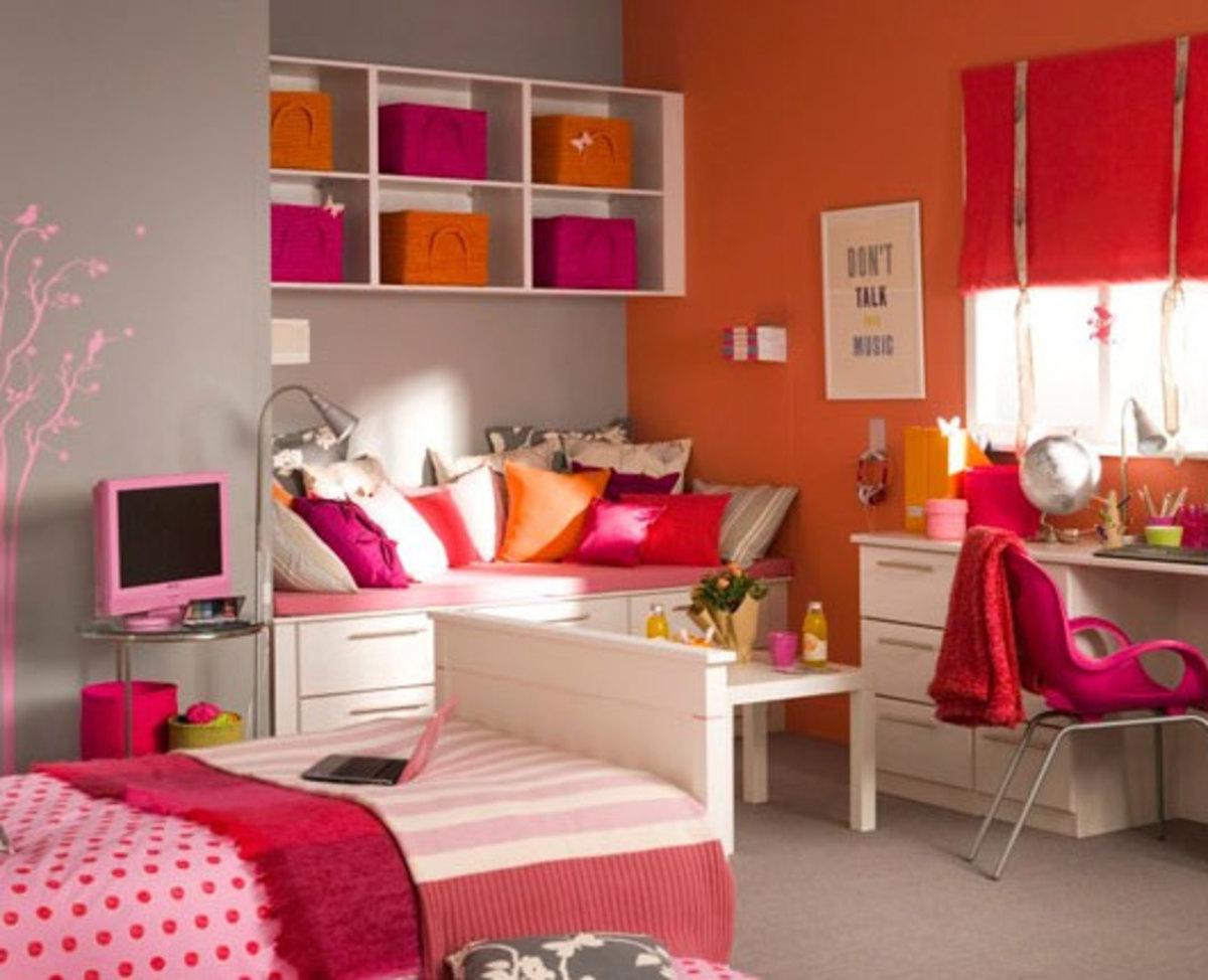 20 Teenage Girl Bedroom Decorating Ideas | HubPages on Teenage Room Decor Things  id=19619