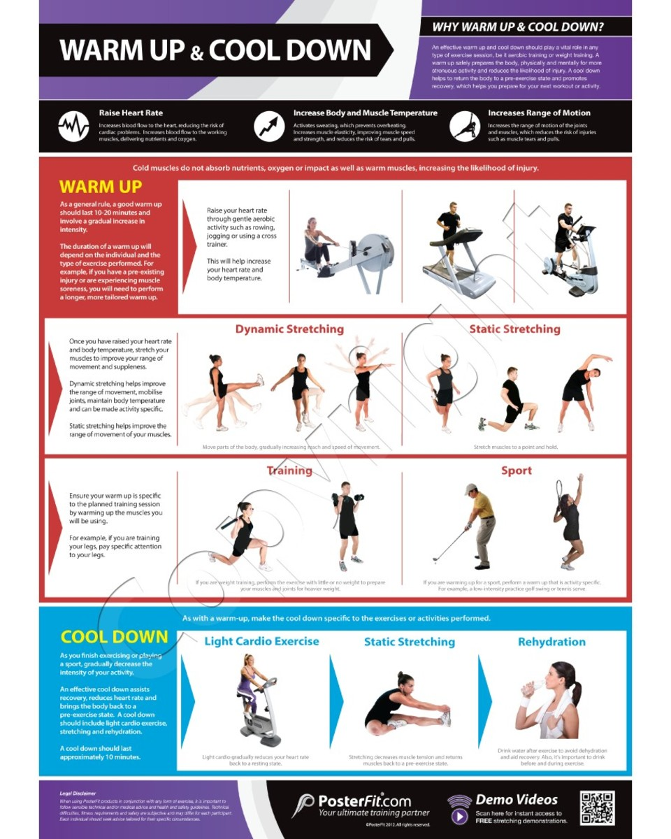 Sample Warm Up Stretches for the Work Place