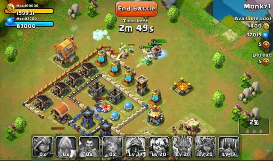9 Must Play Games Like Clash of Clans   LevelSkip 1  Castle Clash  A Fast Paced Game