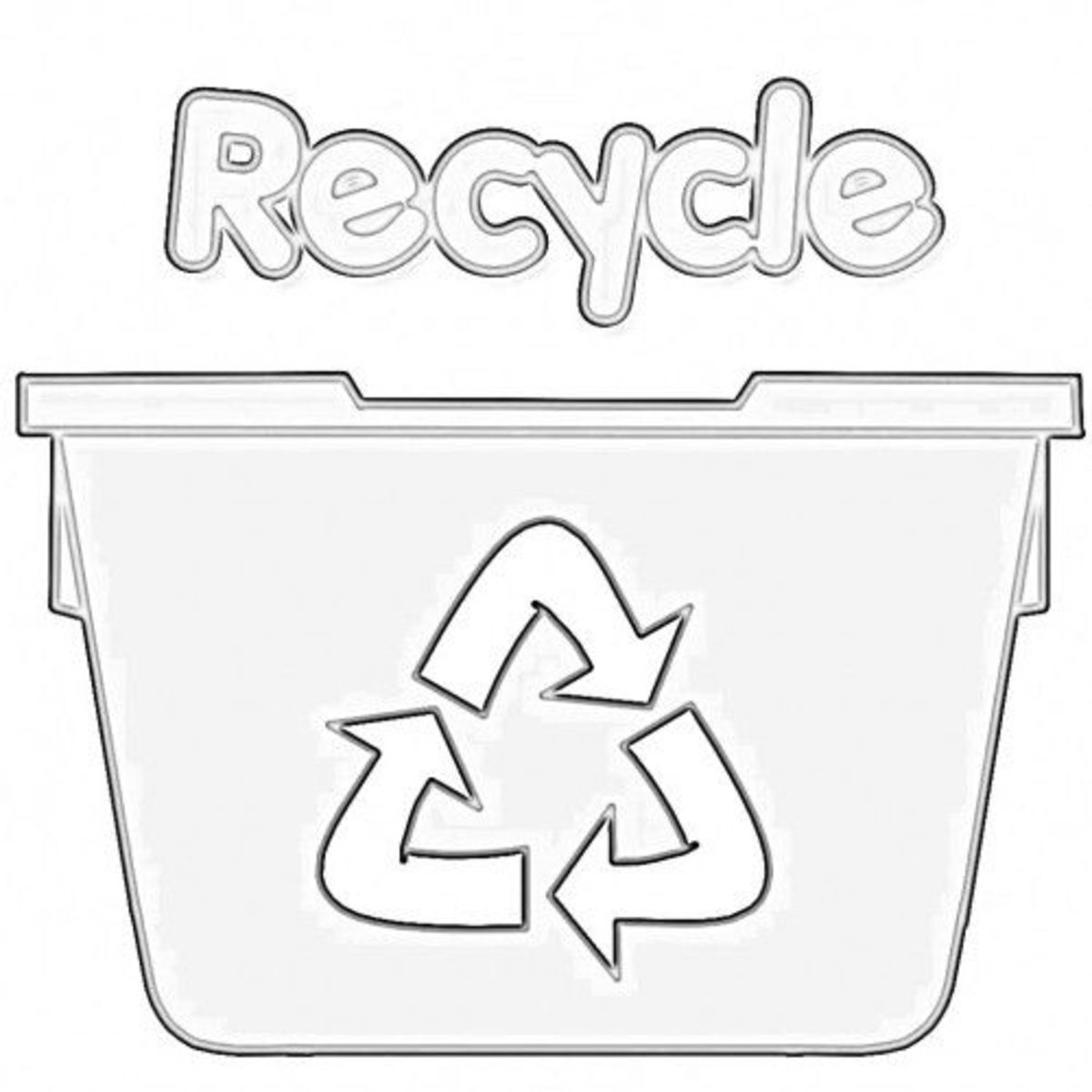 Printables Recycling For Kids Worksheets