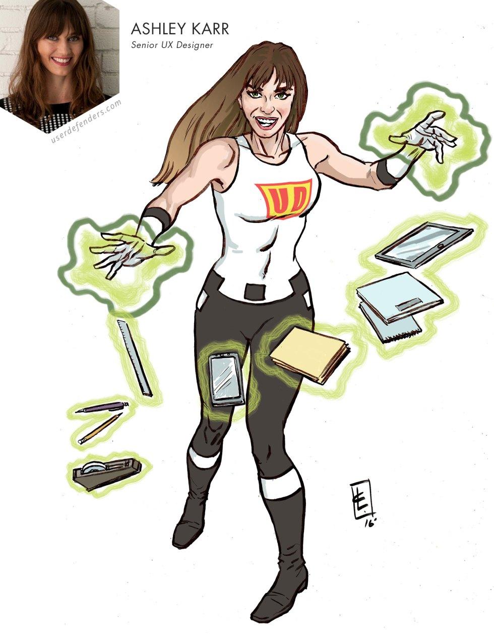 User Defenders Ashley Karr