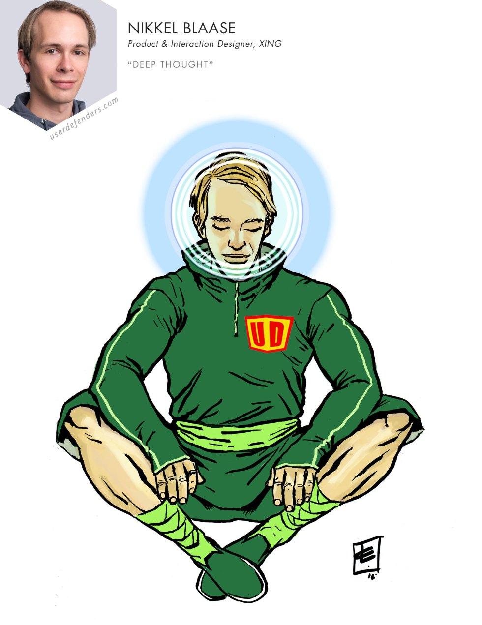 """User Defenders """"Deep Thought"""" Nikkel Blaase"""