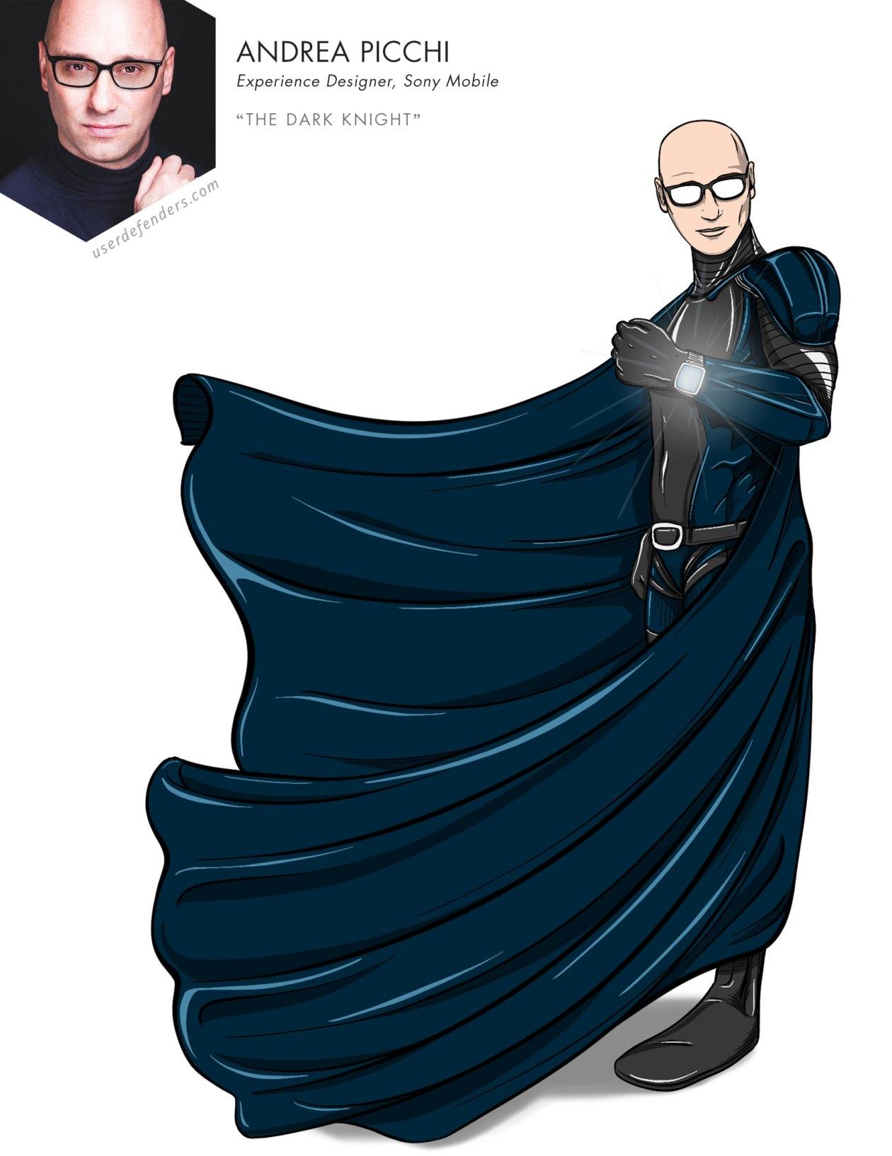 """User Defenders """"The Dark Knight"""" Andrea Picchi"""