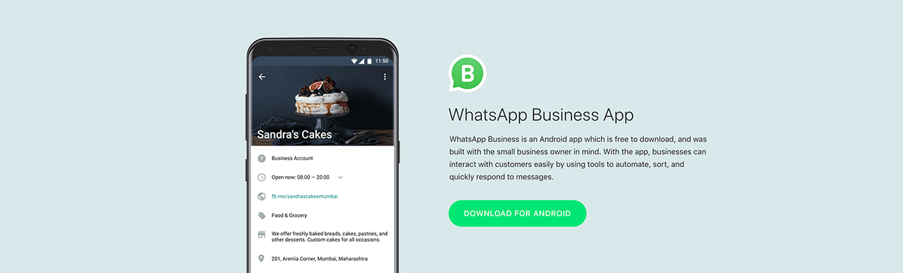 WhatsApp for Business App