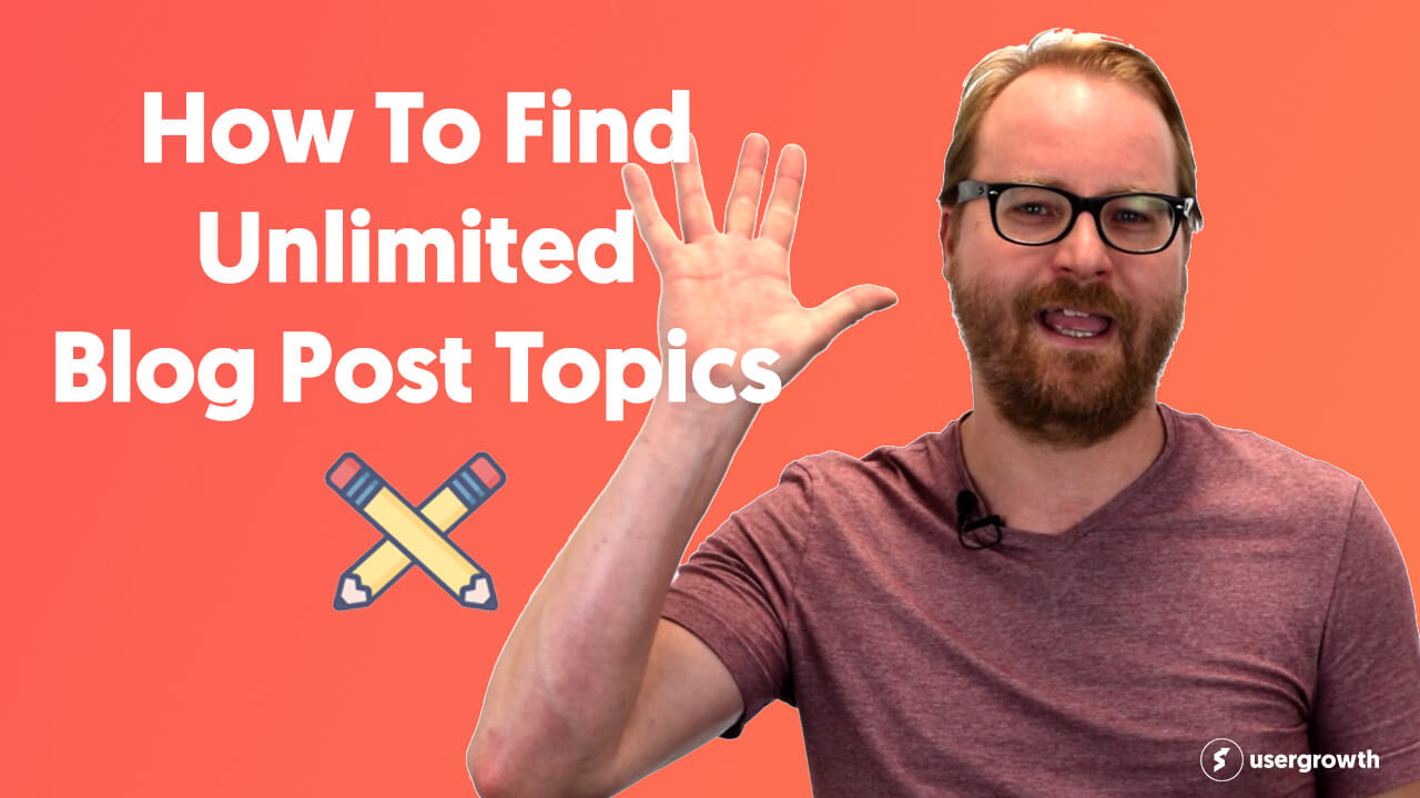 How To Find Unlimited Blog Post Topics
