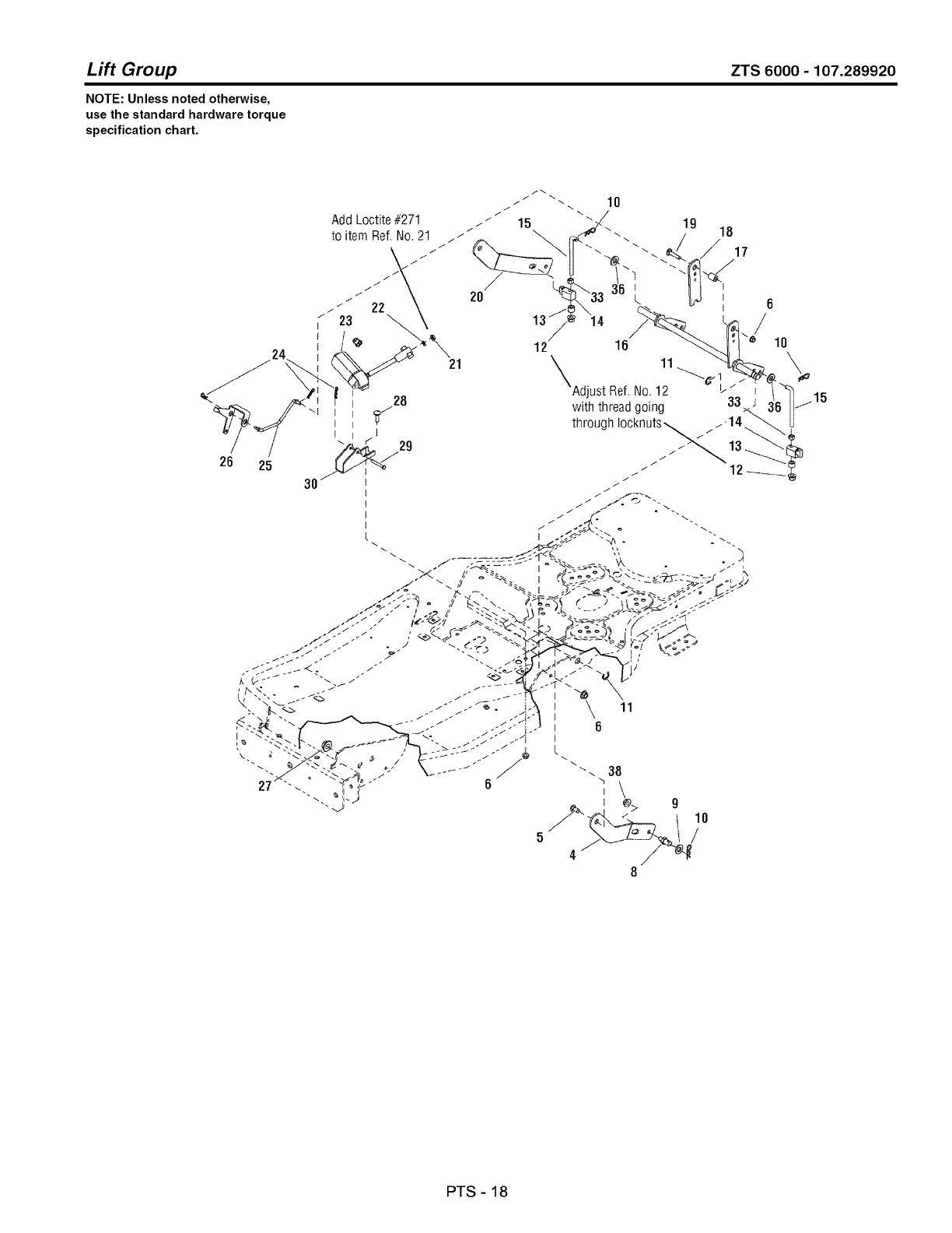 Craftsman Zts Belt Diagram