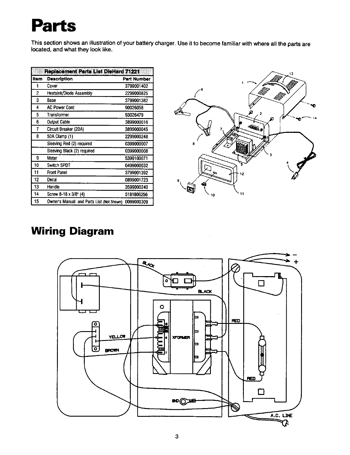 Hard Battery Charger Wiring Diagram