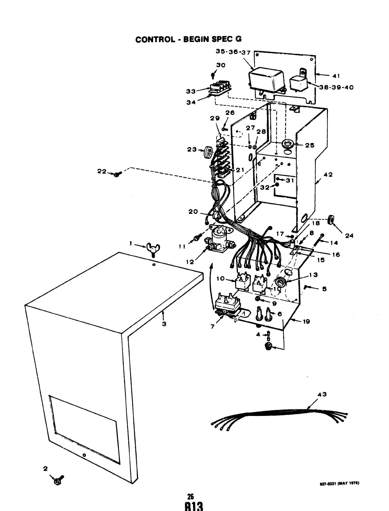 Vdv P 927 Onan Mcck Marine Genset Parts Manual