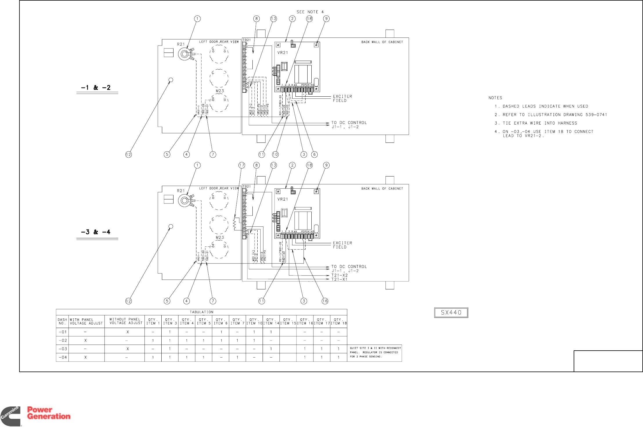 960 Onan Dgxx Qsxx Detector Controls Generator Set