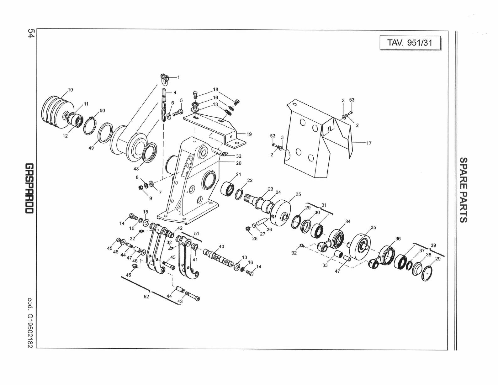 Fb Series Mower Parts Manual
