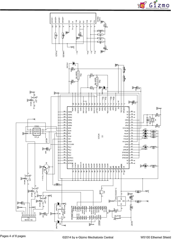 W Ethernet Shield Hardware Manual
