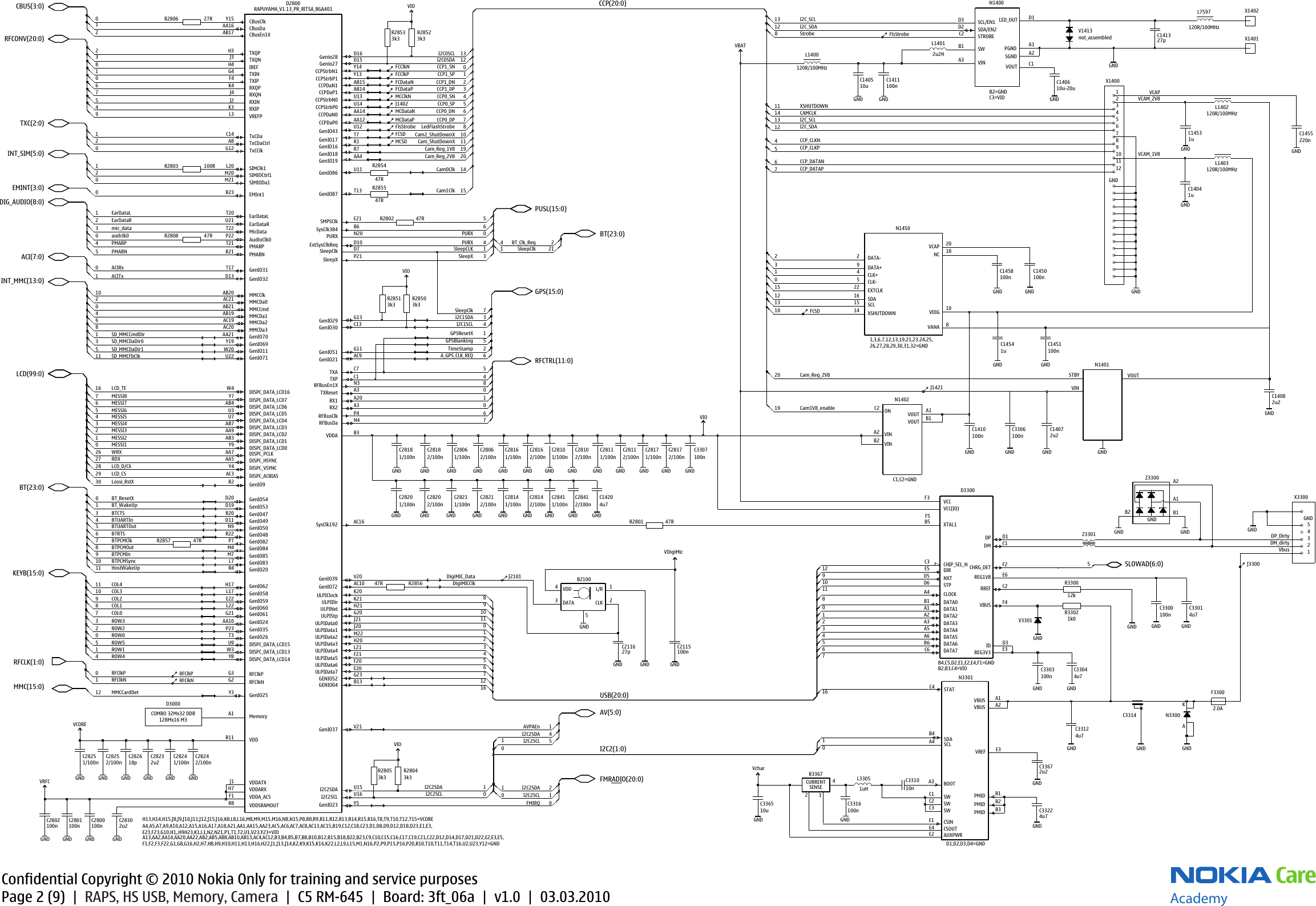 Nokia C5 00 Rm 645 Service Schematics S Manuals