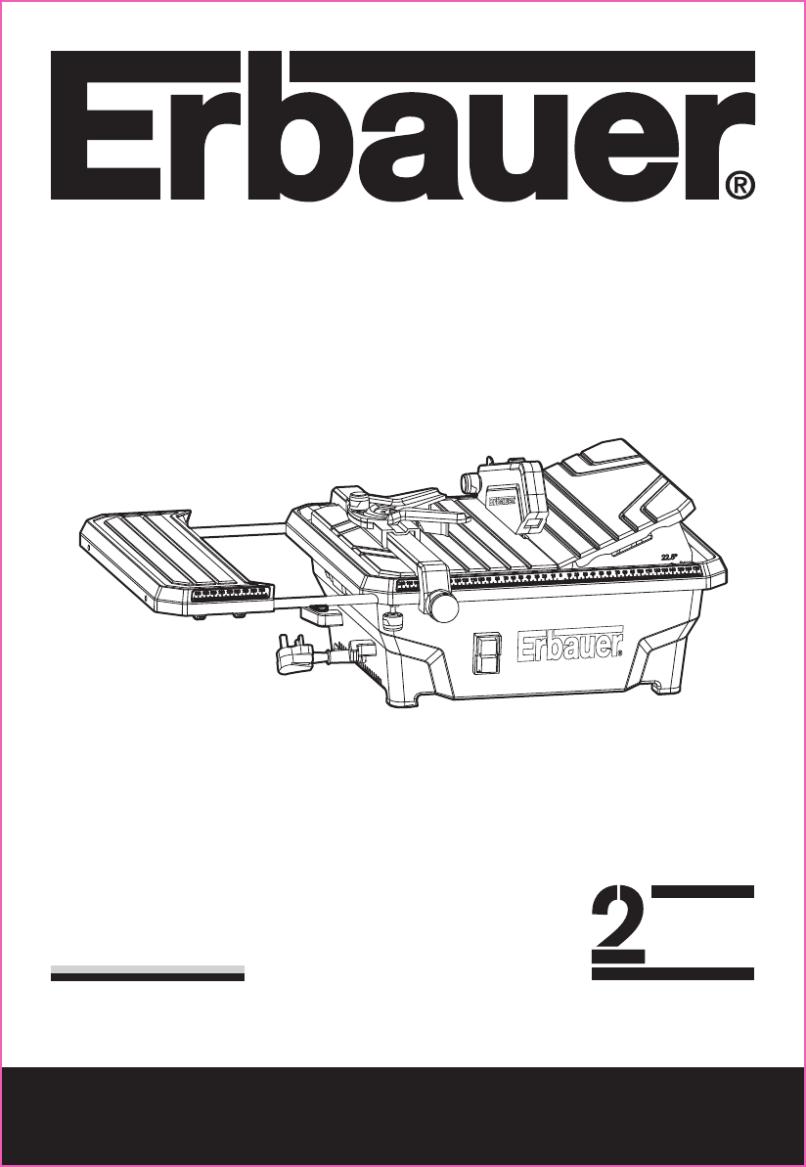 20170526 Erbauer 750w Tile Cutter Im