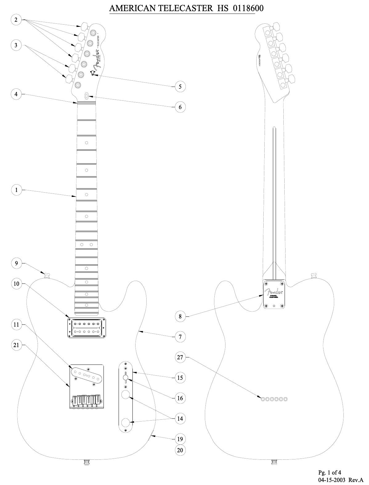 Hs Telecaster Wiring Diagram Database