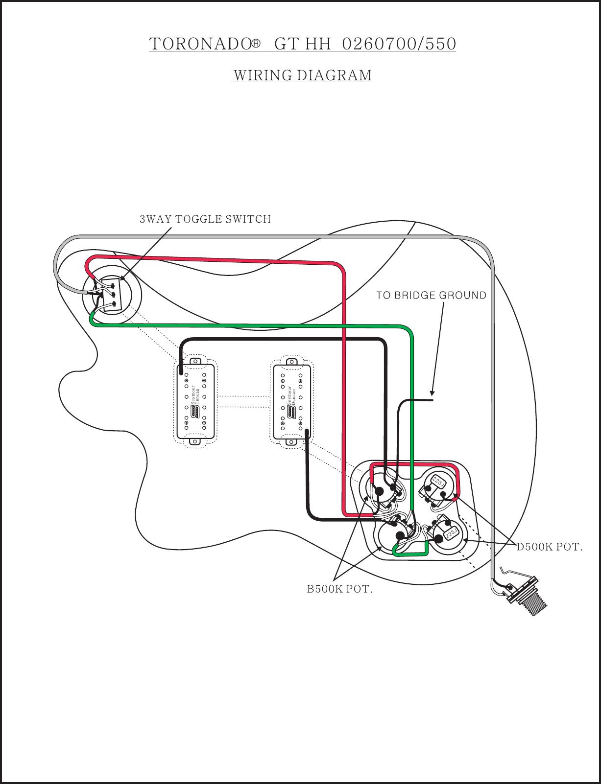 Fender Jaguar Special Hh Wiring Diagram