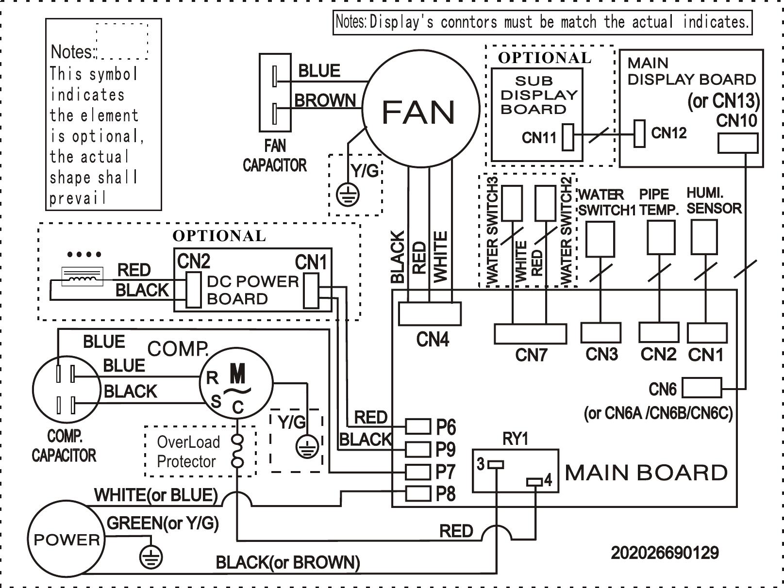 Frigidaire Fad504dwd Wiring Diagram Elus Cfz1 0bd N1 Fa D 05 1