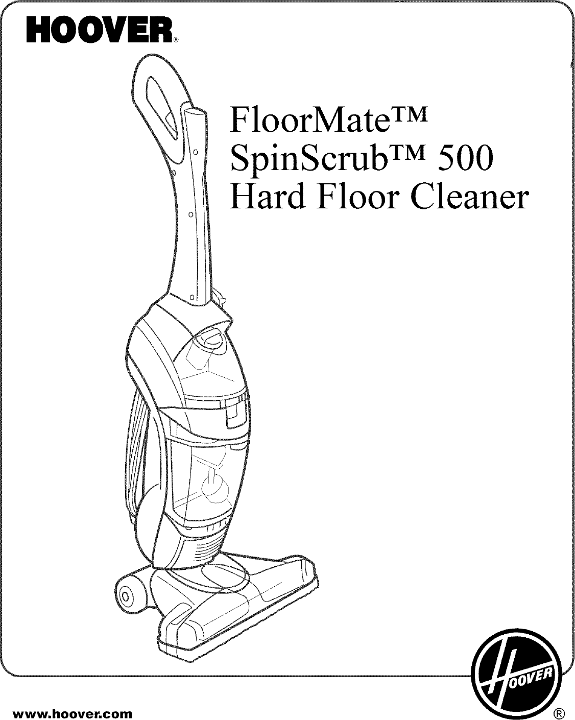 Hoover H User Manual Manuals And Guides L